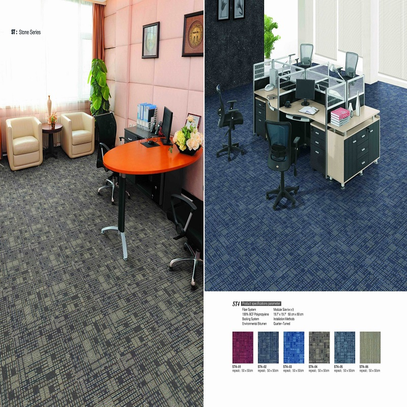 PP carpet tiles