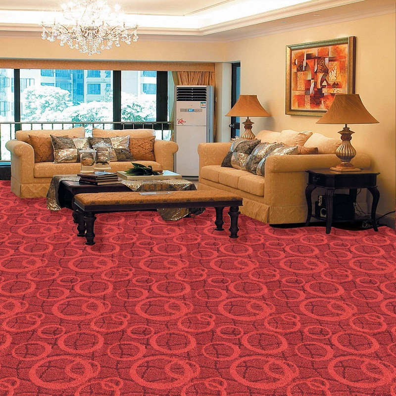 tufted wall to wall carpet